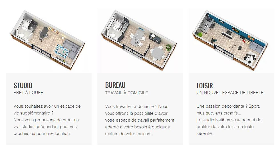 Natibox versions de studio
