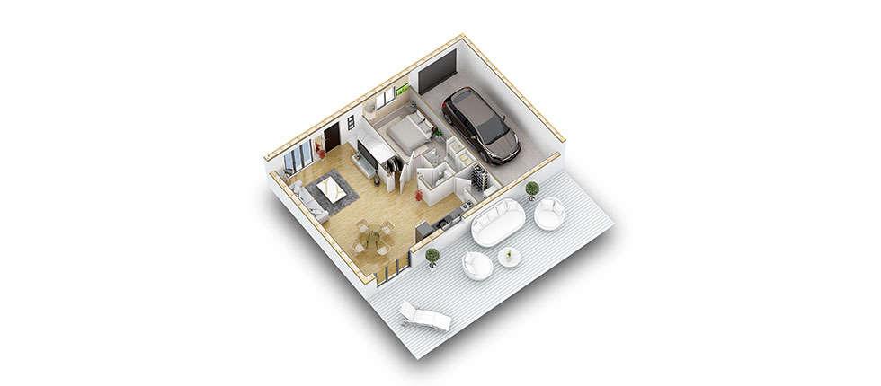 plan interieur 3d rdc kit hevea pobi