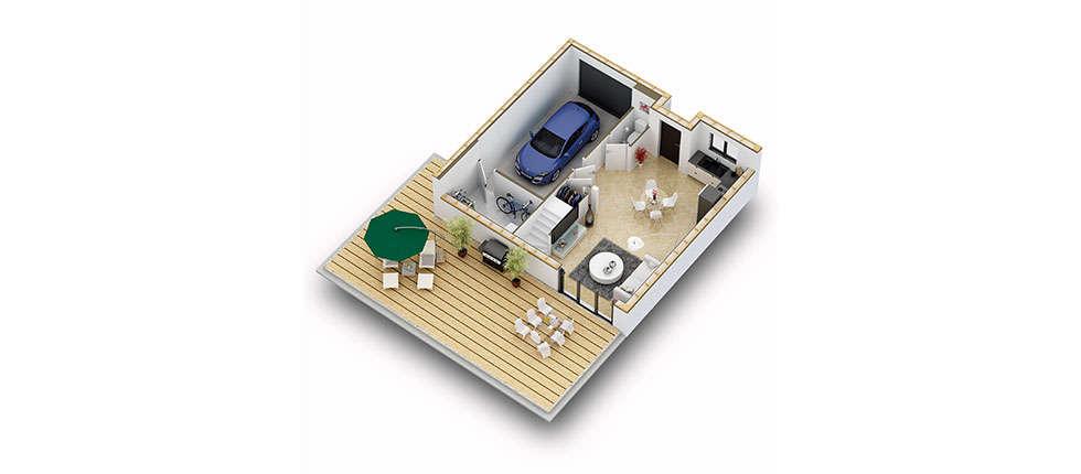 plan interieur 3d rdc kit kasai pobi